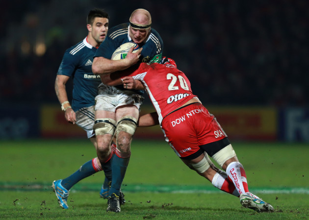 Rugby Union - Heineken Cup - Pool Six - Gloucester Rugby v Munster Rugby - Kingsholm Stadium