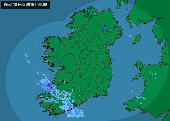 met eireann rainfall