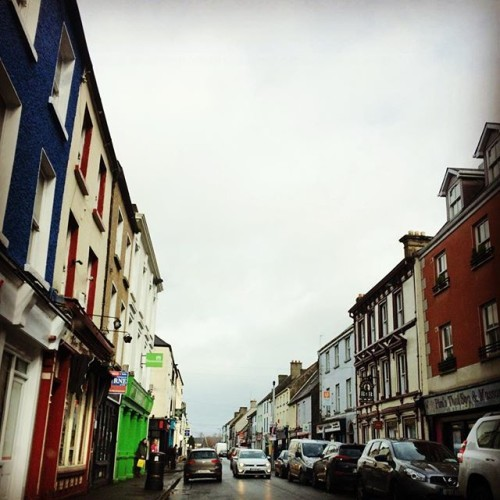 A rainy cold Carlow Town! Roaming the streets where my grandmother lived once upon a time! Quite an incredible day
