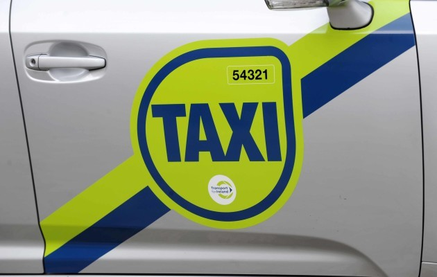 New Taxi branding. Minsiter of State a
