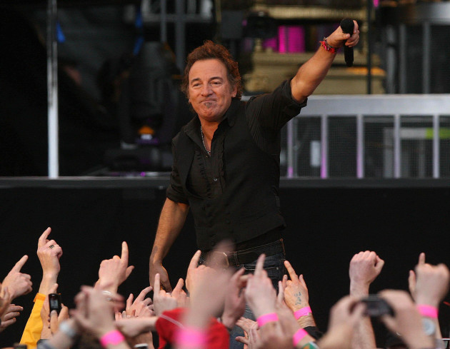 Bruce Springsteen in concert - Dublin