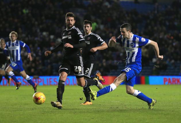 Brighton and Hove Albion v Brentford - Sky Bet Championship - AMEX Stadium