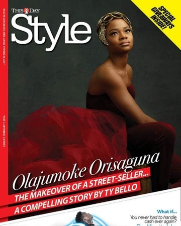 Someone special our #olajumoke made it on the cover of this day style this morning . You all should buy one . This just made me cry . She really is a blessed woman with an amazing story . I almost cant believe it !@thisdaystyle thank you for being the most amazing publication and believing in this story
