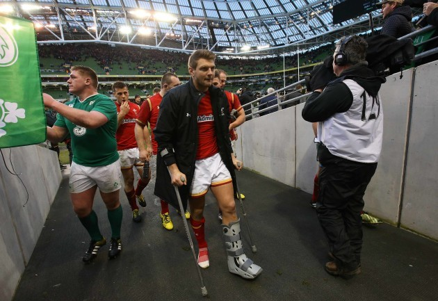 Dan Biggar after the game