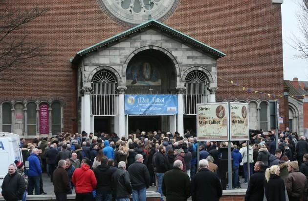 Eddie Hutch funeral