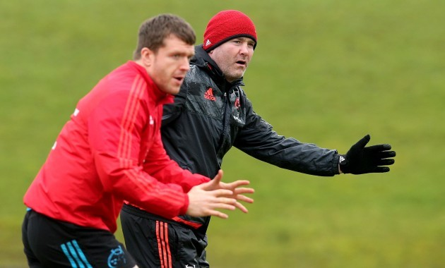 Anthony Foley and Mike Sherry