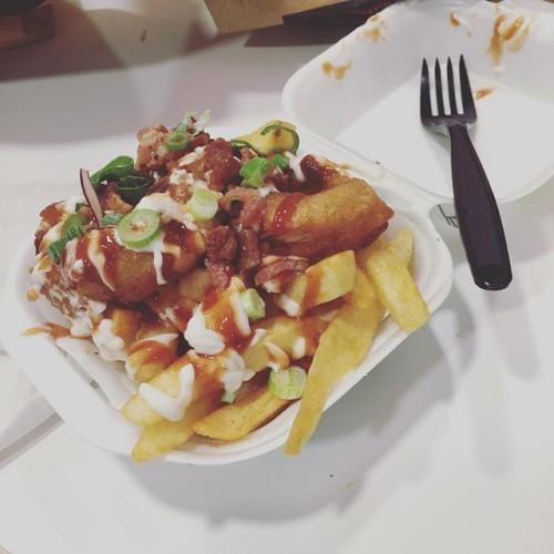 Rodeo fries w/ @christiankraig @kici0835 @toffeekrisp and Brian.