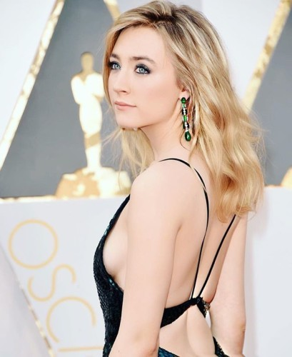 I was so proud to be by your side today #saoirseronan. You are an inspiration for me and for so many others. I love you. You are a true artist, congrats on your nomination. The best team of collaborators for this award season.... Genuis @eswmaui @teamsaltzman dress by @calvinklein @costafrancisco makeup @storyofmailife #oscars #voluminous #proud #calvinklein #meandjohn #brooklynmovie