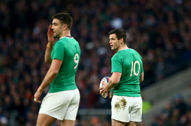 Conor Murray and Jonathan Sexton