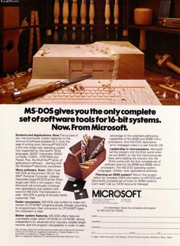 but-ibm-didnt-ask-for-the-copyright-to-the-software-and-gates-never-offered-it-meant-that-microsoft-was-free-to-sell-ms-dos-its-own-version-of-the-operating-system