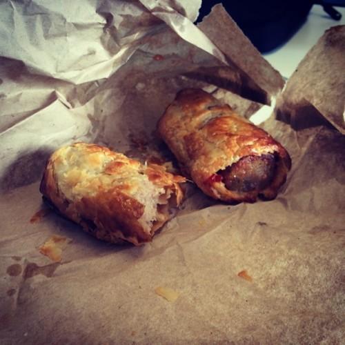 Dublins tastiest sausage rolls! #greenbenchcafe #breakfast #lovindublin