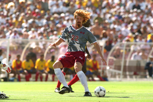 Soccer - FIFA World Cup USA 1994 - Group A - United States v Colombia - Rose Bowl, Pasadena