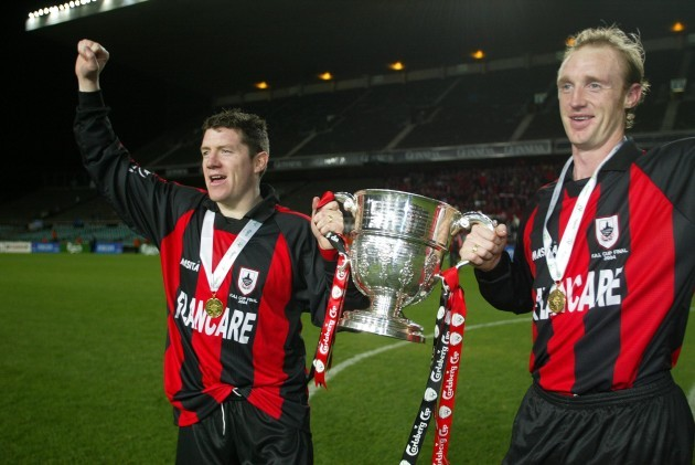 Alan Murphy and Paul Keegan 24/10/2004