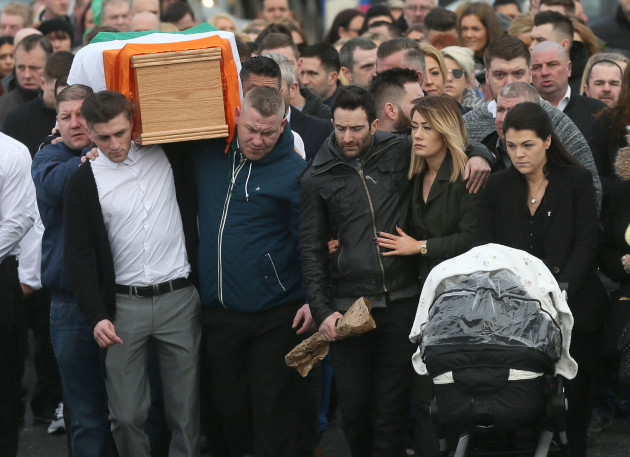 Vincent Ryan funeral