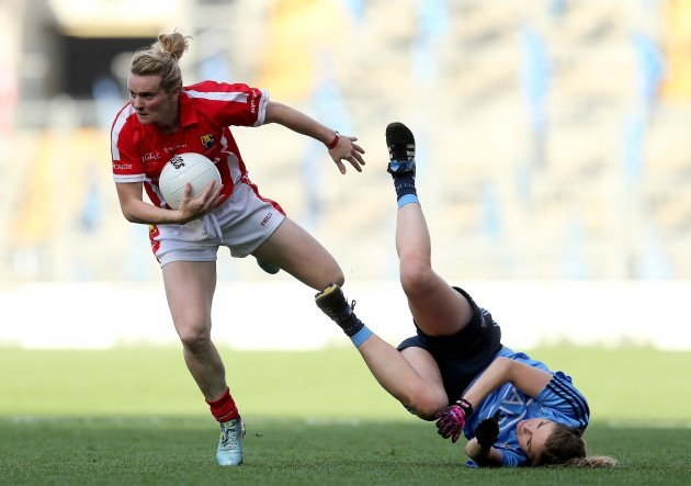 Briege Corkery and Sinead Finnegan