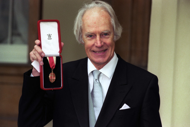 SIR GEORGE MARTIN -INVESTITURE