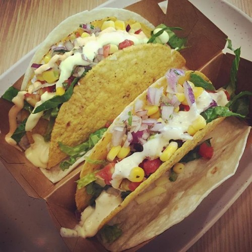 #justbecause its #tacotuesday! 2 for 99 baht! #bangkok #mbkcenter #zambrero