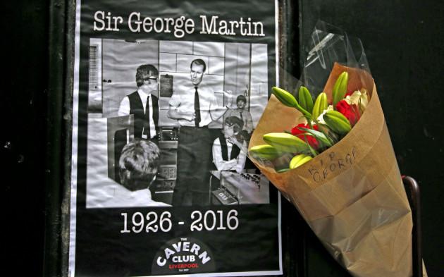 George Martin death