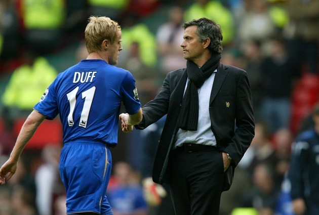 I never felt out with Mourinho, I regret leaving Chelsea – Duff