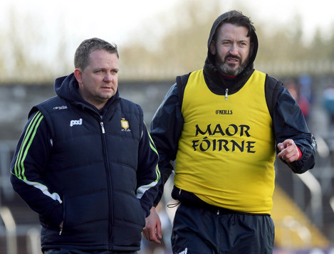 Davy Fitzgerald and Donal Og Cusack