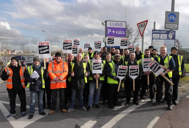 11/2/2016 A two-day strike by SIPTU workers beginn
