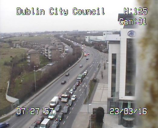 M1 Traffic Cameras >> Commuting liveblog: Dublin traffic very heavy, breakdown at Red Cow, and cows on the loose in ...