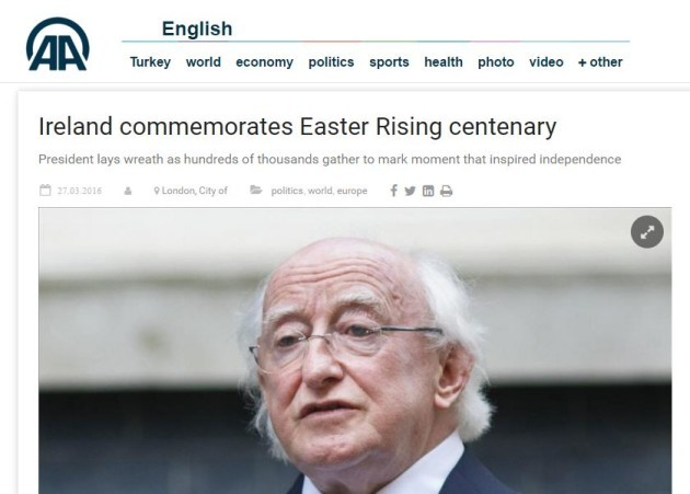 What were the consequences of the 1916 Easter rising Essay