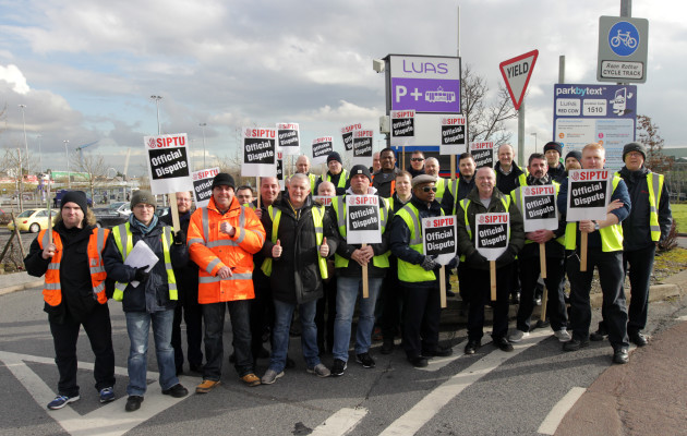 11/2/2016 Luas Transport Strikes