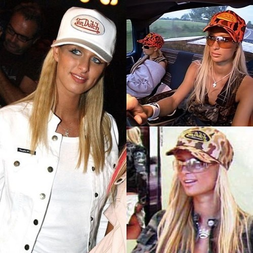 #VonDutch Truckers hats are making a come back #ParisHilton #NickyHilton