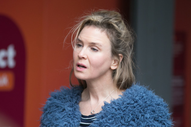 Bridget Jones's Baby Filming - London
