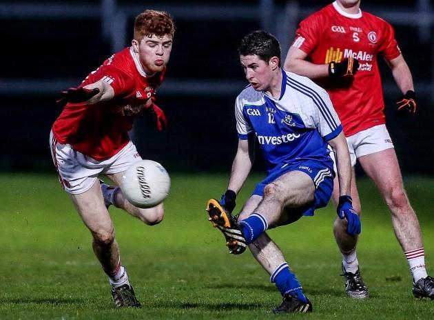 Donal Meegan with Cathal MacShane