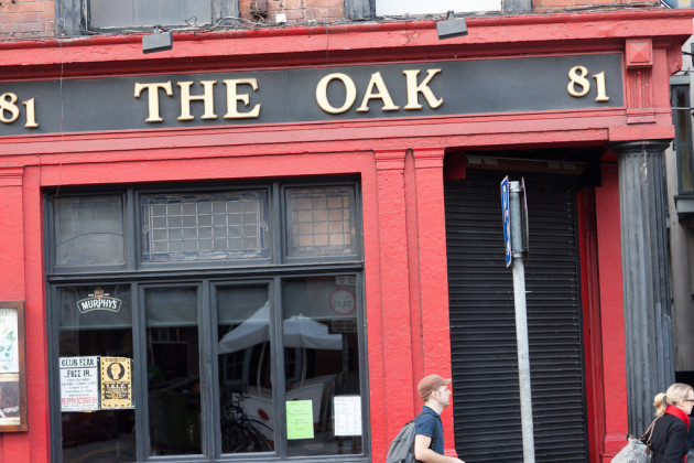 The Oak Pub On Dame Street