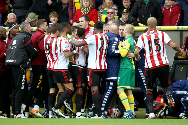 Norwich City v Sunderland - Barclays Premier League - Carrow Road