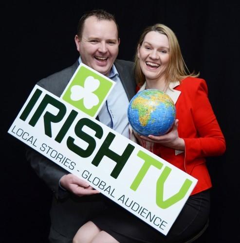 IrishTV 1 Pierce and Mairead