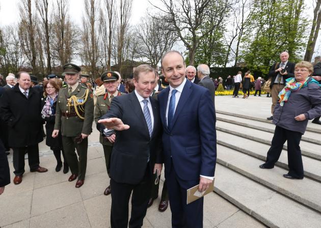24/04/2016. 1916 Easter Rising Centenary Commemora