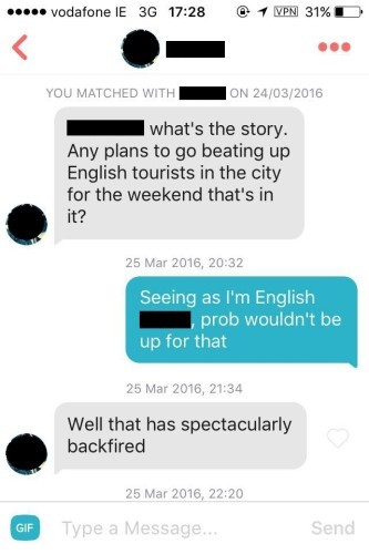 How do you chat on tinder