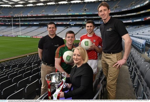 EirGrid GAA Football U21 All Ireland Final Media Event