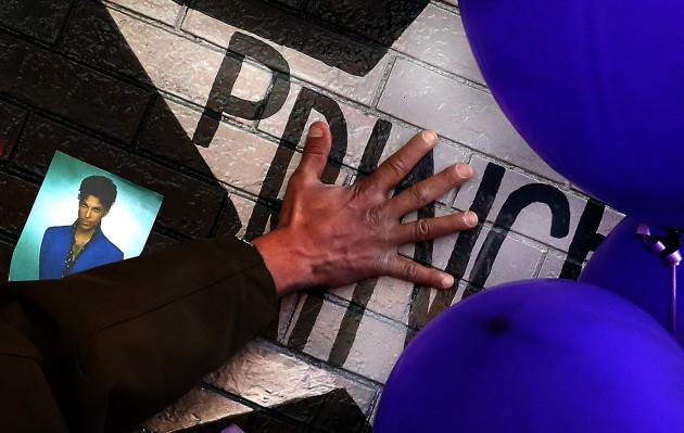 APTOPIX Prince Death