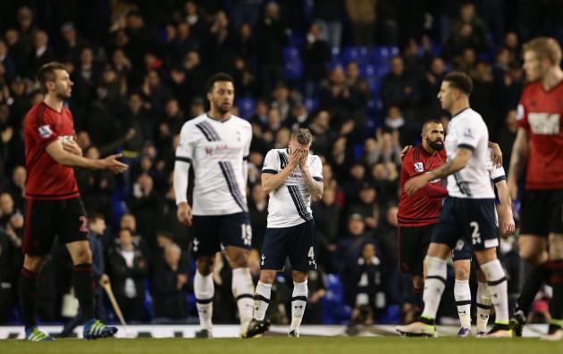 Tottenham Hotspur v West Bromwich Albion - Barclays Premier League - White Hart Lane