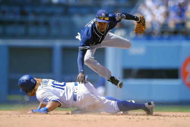 Padres Dodgers Baseball