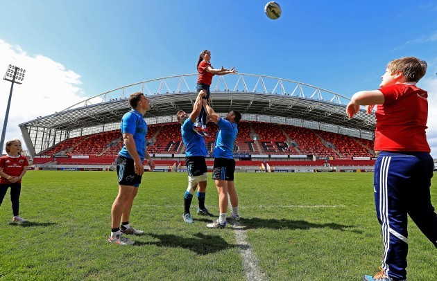 Launch of The Bank of Ireland Munster Rugby Camps