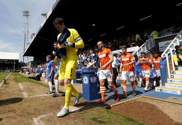 Peterborough United v Blackpool - Sky Bet League One - ABAX Stadium