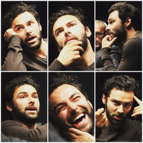 Yaaaaaasssss credit to whoever made this #aidanturner #yaaaaas #babe #stubble #perfect