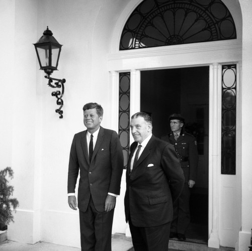 Politics - President Kennedy Visit to Ireland - Dublin