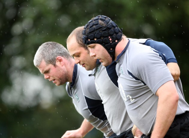 Rory Best and Bryan Young