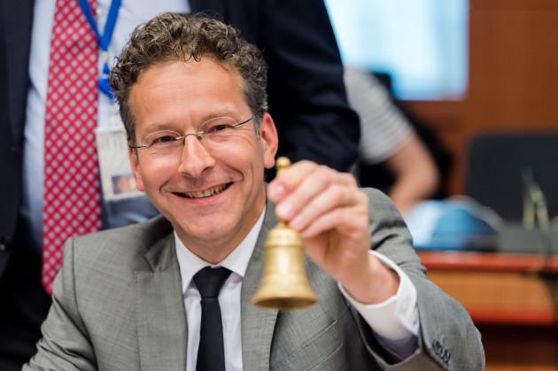 Belgium EU Eurogroup