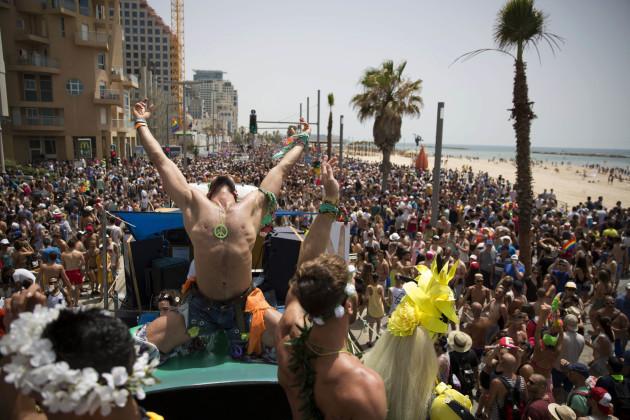 Mideast Israel Gay Pride