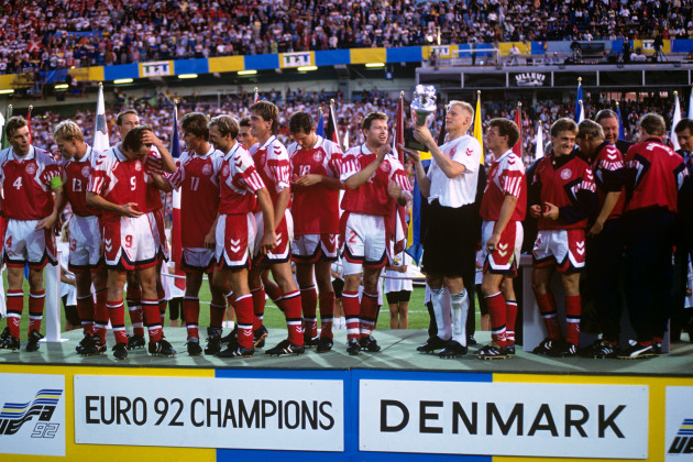 Soccer - European Championships - Final - Germany v Denmark - Ullevi, Gothenburg
