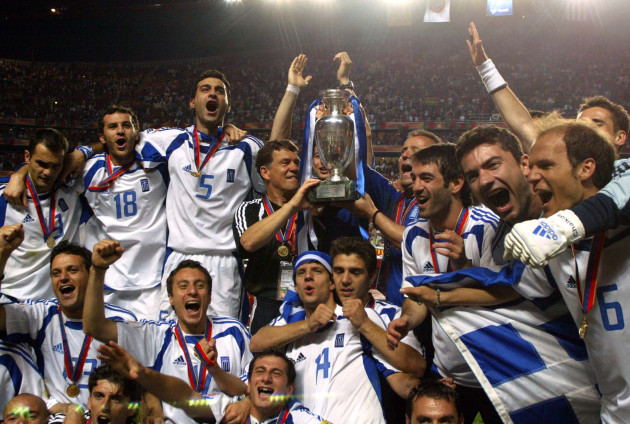 WCUP WORLD CUP SOCCER FIFA GREECE SUSPENDED