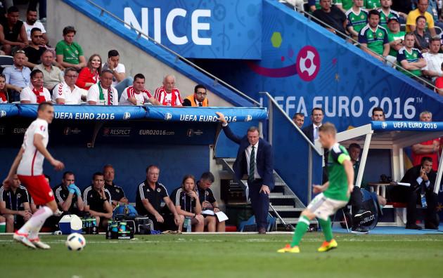 Northern Ireland v Poland - UEFA Euro 2016 - Group C - Stade de Nice